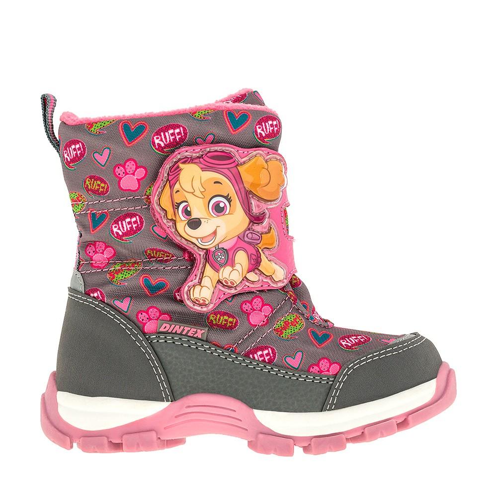 59eed62ac Мембранная обувь PAW Patrol детские оптом для девочек рядами - 24-28 6935C  - купить, цена и фото в оптовом магазине CROSSWAY