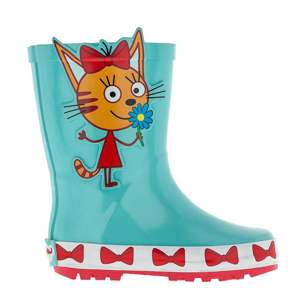8a94f3122 Оптом детские резиновые сапоги для девочек Три кота | Размеры 24-29 | Арт.  8003C
