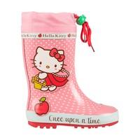 Резиновые утепленные сапоги Hello Kitty 5343B_RE