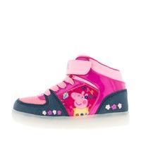 Ботинки со светящейся подошвой Peppa Pig 6748B