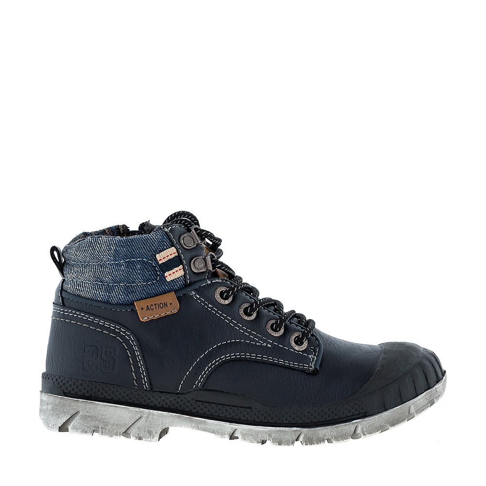 Ботинки с молнией KAKADU 6949A