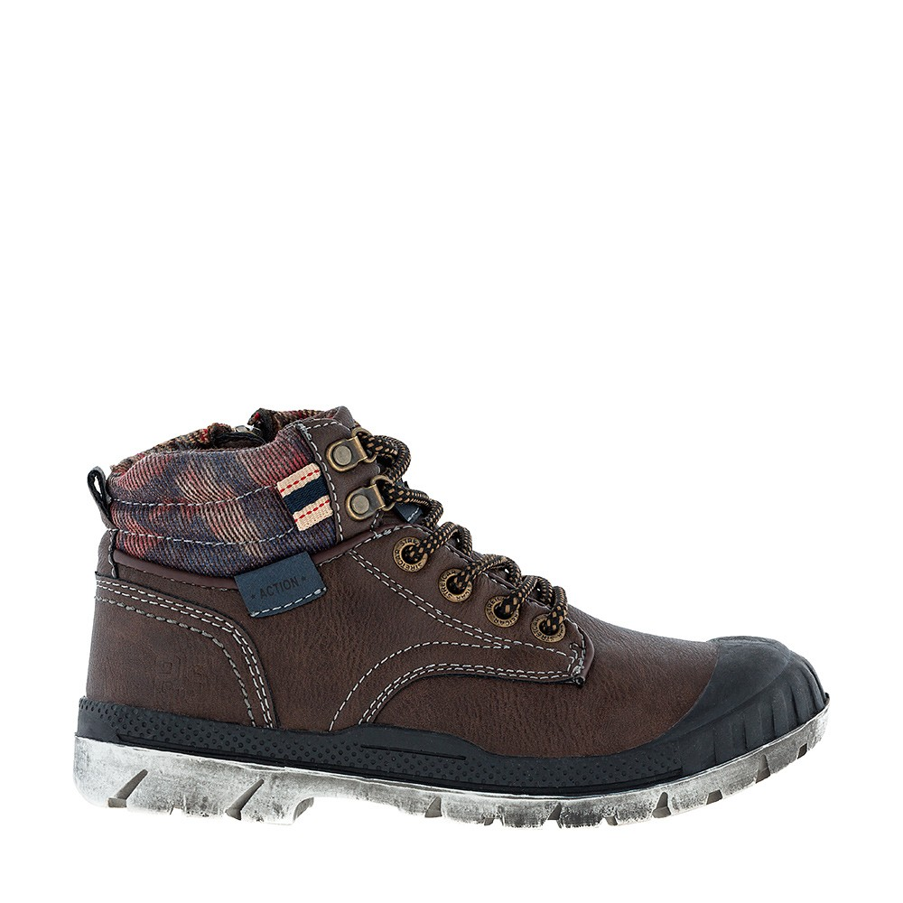 Ботинки с молнией KAKADU 6949B