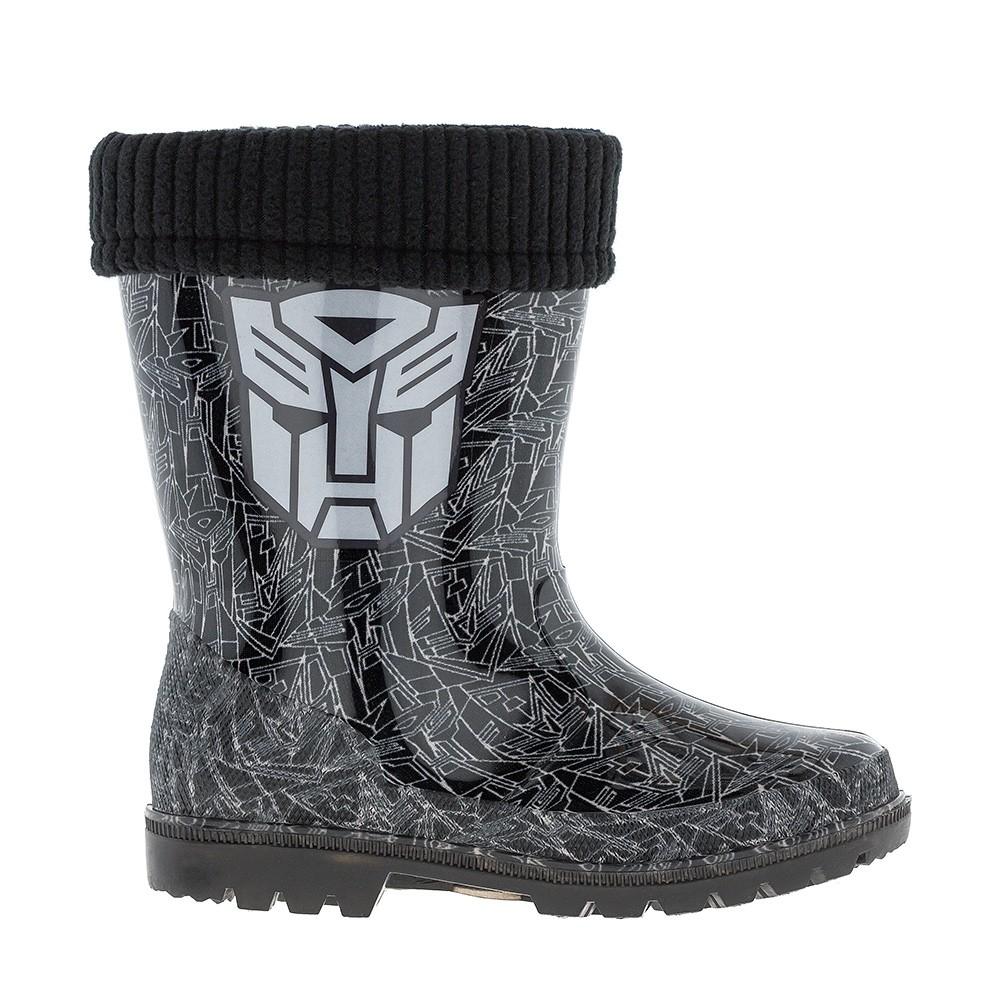 Сапожки с подсветкой каблука Transformers 7202C 1