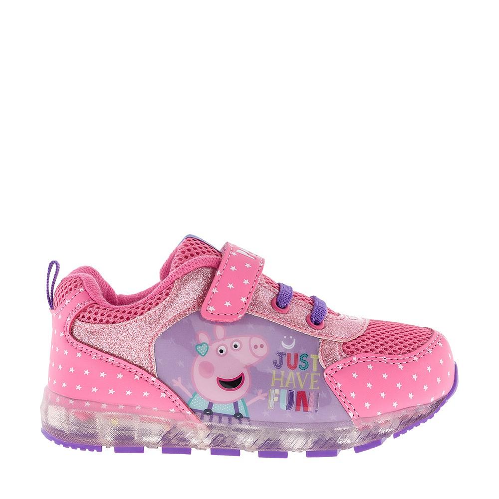 Кроссовки со светящейся подошвой Peppa Pig 7269A 1