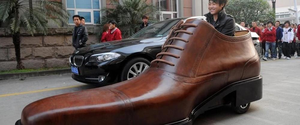 Ботинки на колёсах, но не ролики