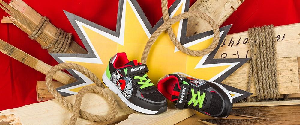 Обувь для активных и непоседливых