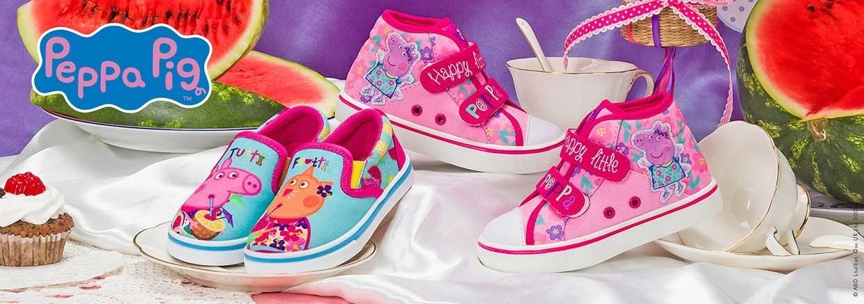 Обувь для девочек Peppa Pig