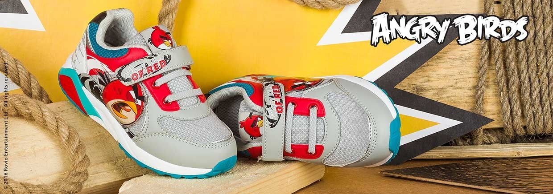 Обувь для мальчиков Angry Birds