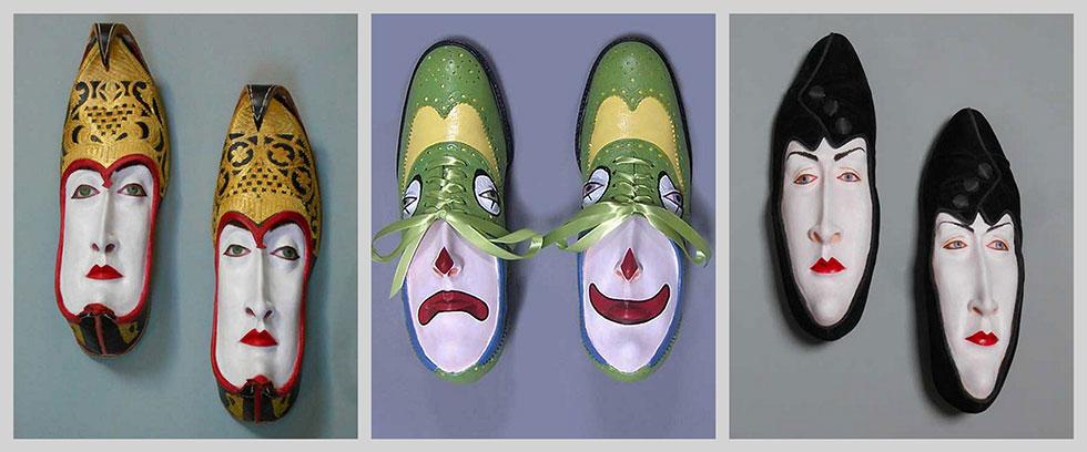 Обувь со своим лицом