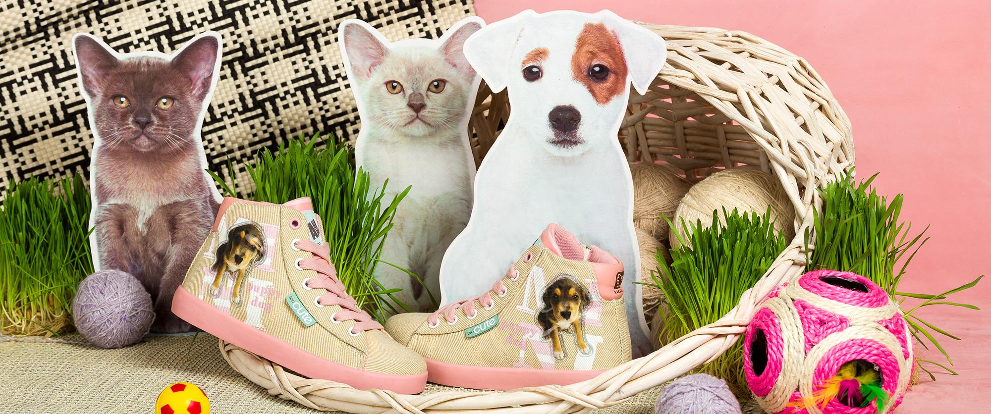 Обувь с любимыми животными