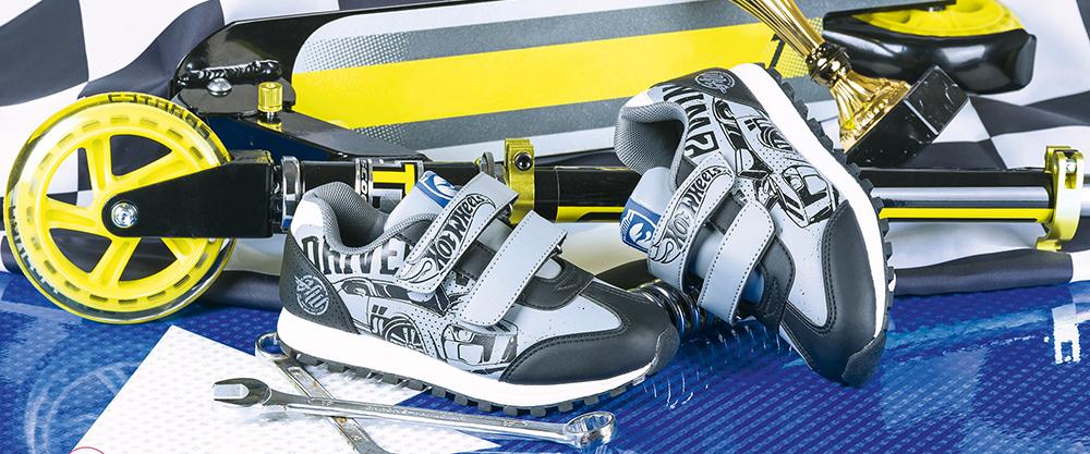 Hot Wheels — обувь для чемпиона!