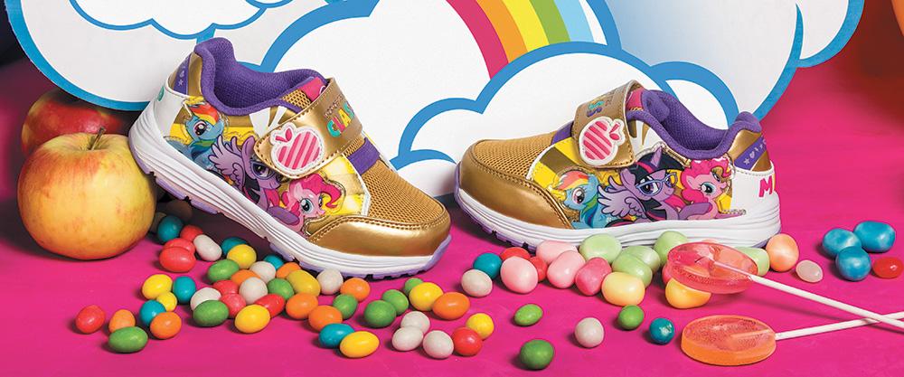 Обувь My Little Pony: на прогулку с друзьями!